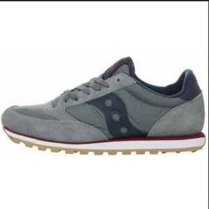 Saucony Jazz Low Pro Charcoal Red Sneakers 11.5